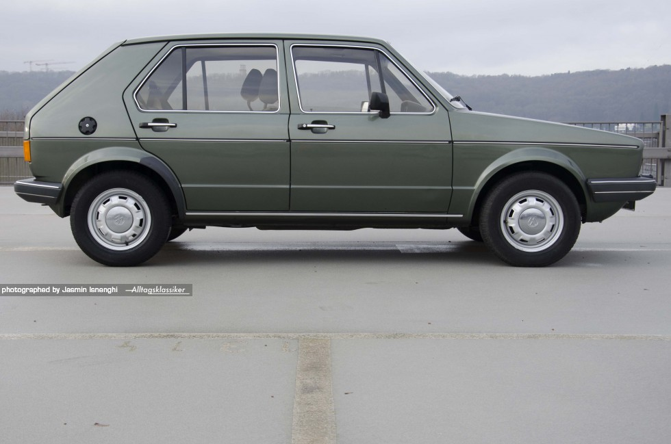 Volkswagen Golf 1 Gls Alltagsklassiker